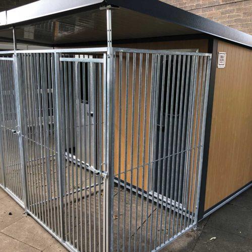 outdoor dog kennels
